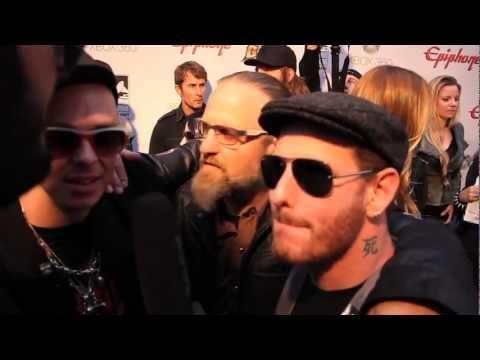 SLIPKNOT Interview at Revolver Golden Gods 2012 on Metal Injection