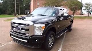 2014 Ford F250 Platinum 4x4 Test Drive