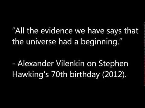 William Lane Craig Discusses Stephen Hawkings Cosmological Views