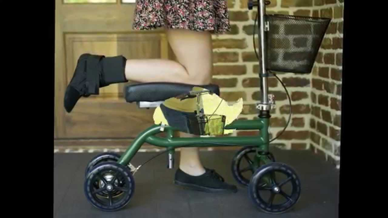 Best Knee Stroller Knee Walker Scooter Knee Scooter The Best Substitutes To Crutches