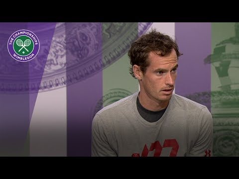 Andy Murray Wimbledon 2017 second round press conference