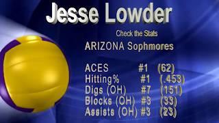 Jesse Lowder Volleyball Highlights