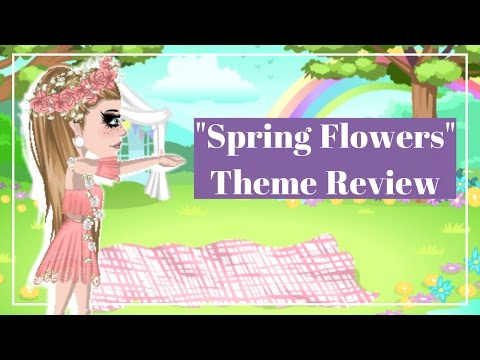 """""""Spring Flowers"""" Theme Review   Msp"""