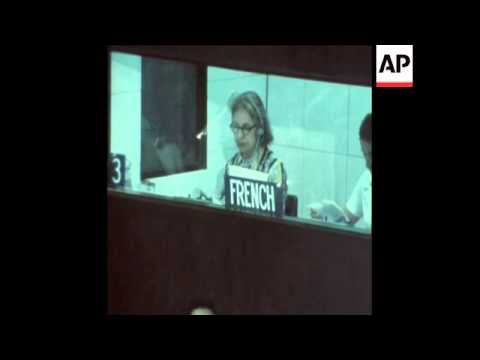 SYND 21-3-73 SPECIAL SECURITY COUNCIL MEETING IN PANAMA