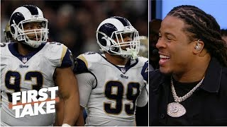 Devonta Freeman's Super Bowl advice to Rams: 'Keep your foot on their neck' | First Take