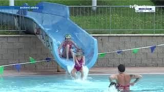 Opravy dětských bazénů   koupaliště Ostrov