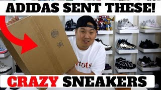 adidas Sent Me Some CRAZY SNEAKERS With No BOOST?!!