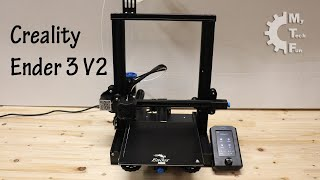 Review of Creality Ender 3 V2 3D printer - unboxing, assembly, bed leveling, first prints