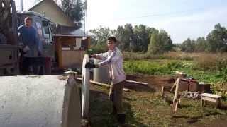 Колодцы, выгребные ямы, траншеи - все для водоснабжения и канализации Вашего участка.(, 2014-12-24T14:30:52.000Z)