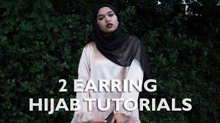 2 Earring Hijab Tutorials