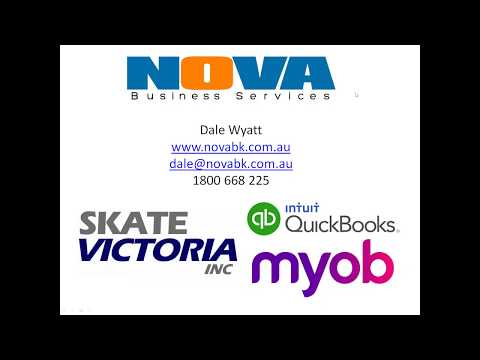Skate Victoria Inc - Bookkeeping for your club