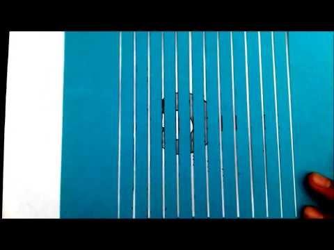 Spinning, Animated Optical Illusion