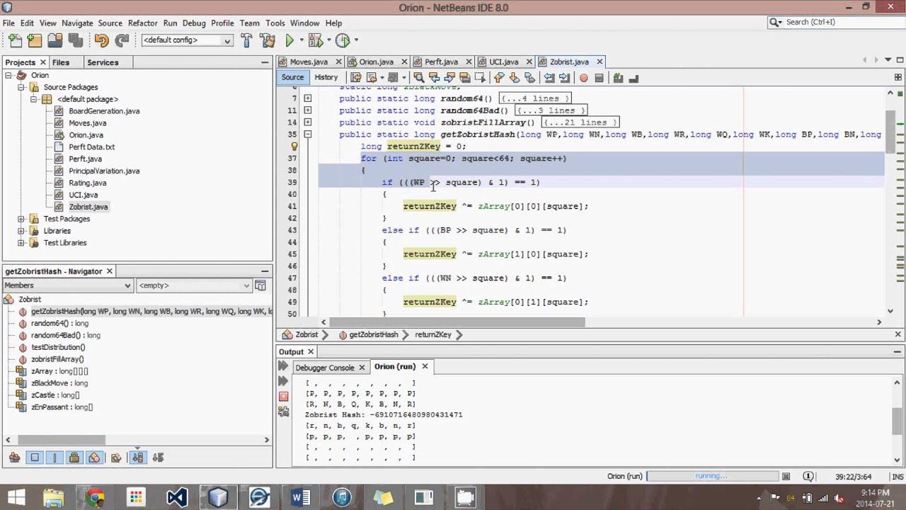 Generating Zobrist Keys - Advanced Java Chess Engine Tutorial 32