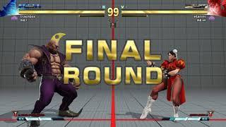 SFV AE  - Highest Rank Grand Master Birdie vs Chunli (Ranked)