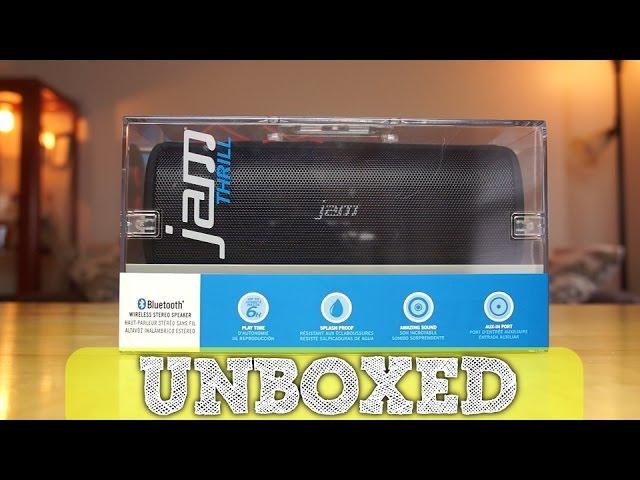 Jam Thrill Wireless Bluetooth Speaker Unboxing - YouTube