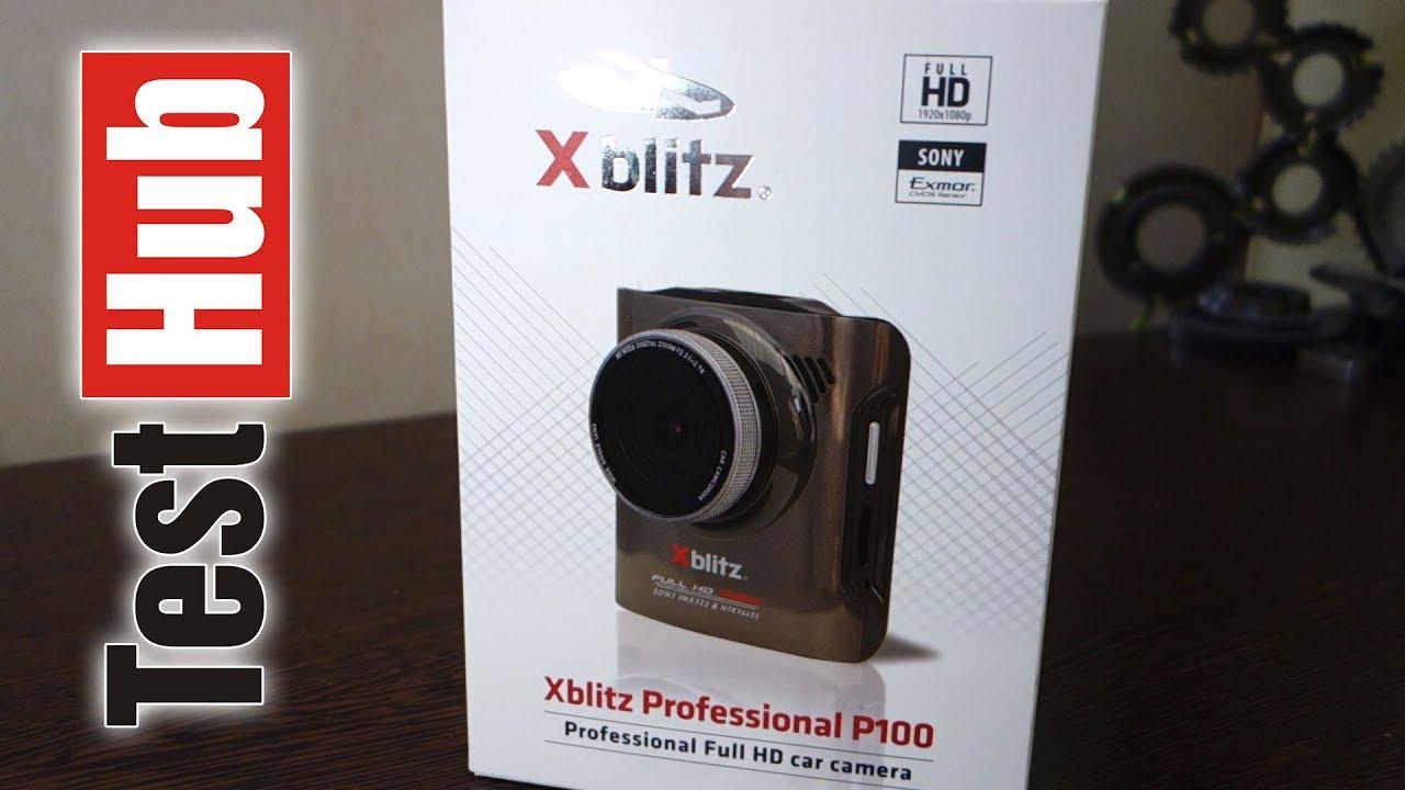 Xblitz P100 Professional rejestrator samochodowy – test