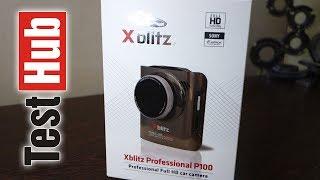 Xblitz P100 Professional rejestrator samochodowy - test