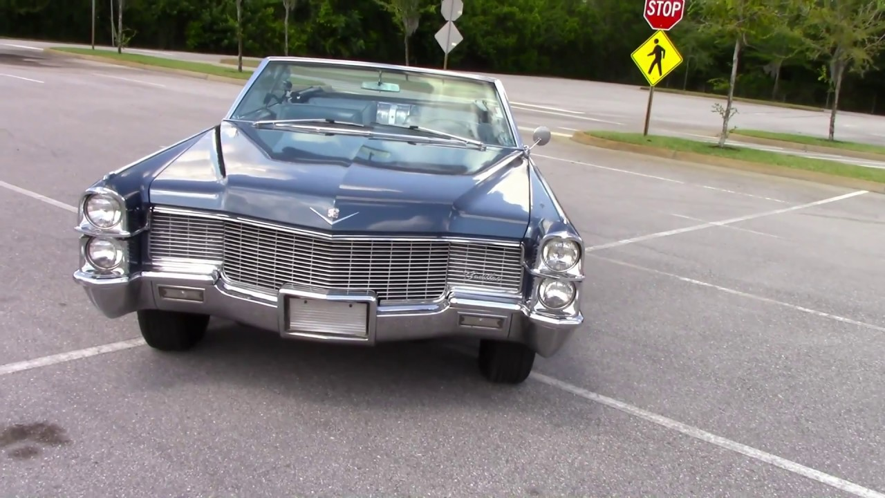 For Sale 1965 Cadillac Deville Convertible Youtube