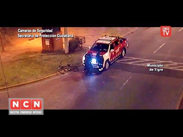CINCO TV - Detectaron a un sospechoso con réplica de arma de fuego en la vía pública