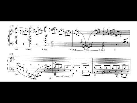 Cécile Chaminade - Piano Sonata Op. 21: 1. Allegro appasionato