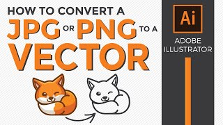 How to convert an Image to Vector in illustrator with Image Trace