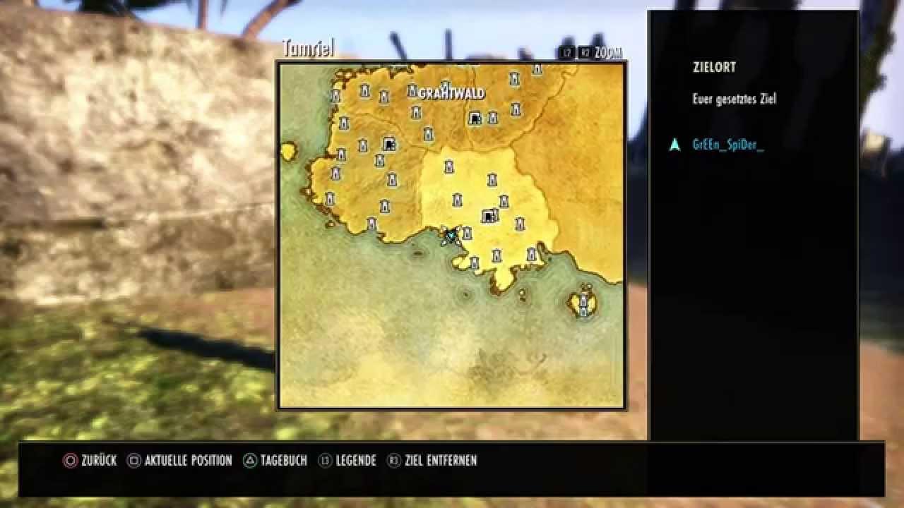TESO- Grahtwood CE Treasure Map