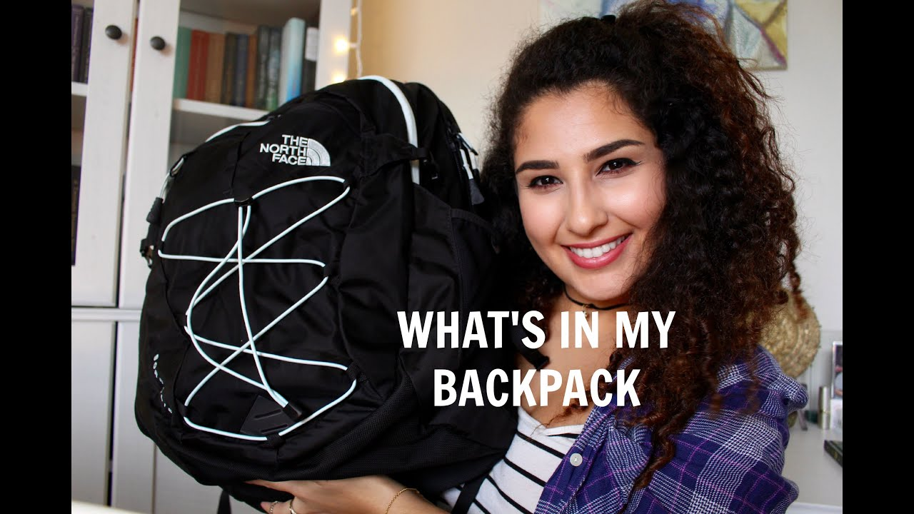 a26eb3524b82 What's in My University Backpack 2015 | The North Face