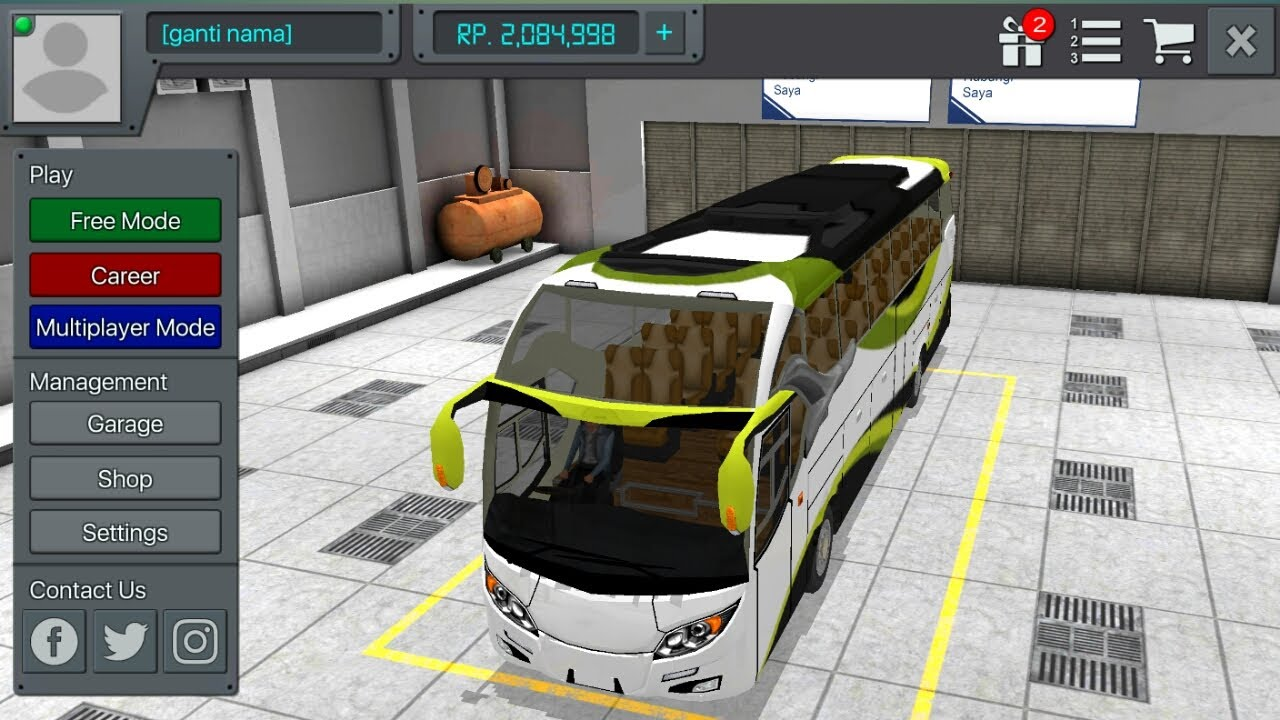 bus simulator indonesia hack mod apk free download