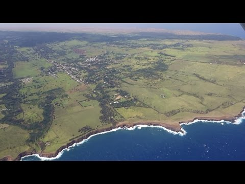 (HD) Kapaau - Big Island - Hawaii - Scenic Flight