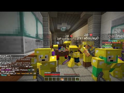 Minecraft Cosmic Prisons #2 Eazy Raid!!!