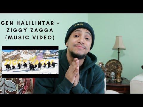American reacts to GEN HALILINTAR - ZIGGY ZAGGA (Music Video)