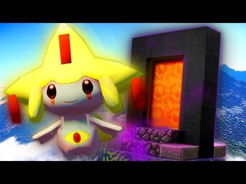 Minecraft Pixelmon Portals - JIRACHI PORTAL! - Episode 4 - PIXELMON LUCKY BLOCK BATTLES w/L8Games!