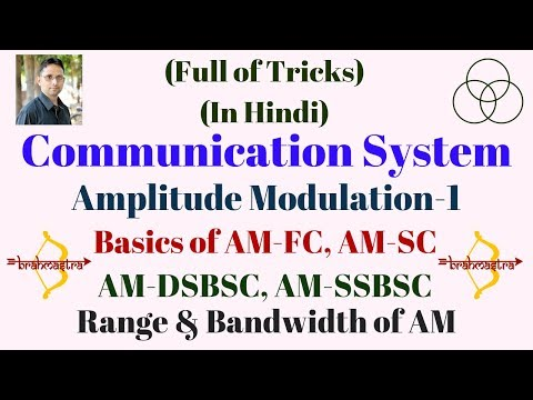 Amplitude Modulation-1 (Communication System-2) By SAHAV SINGH YADAV