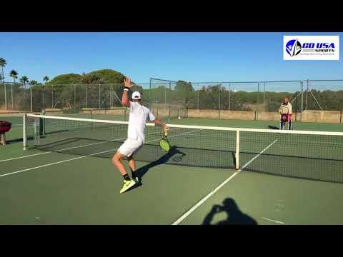 Tennis Recruiting Cristobal Quevedo Fall 2018