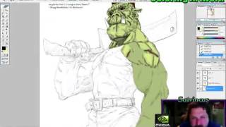 Coloring an Orc
