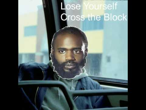 Lose Yourself Cross the Block - Death Grips Eminem Mash Up