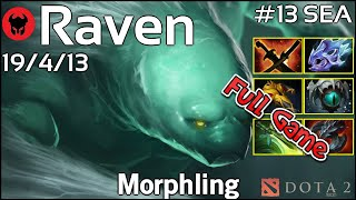 Raven [LOTAC] plays Morphling!!! Dota 2 Full Game 7.21