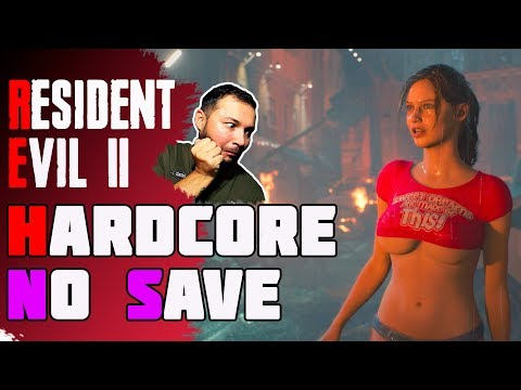 Resident Evil 2 Remake прохождение за час первый сценарий за Клэр