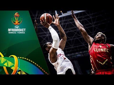 Cameroon v Guinea - Highlights - FIBA AfroBasket 2017