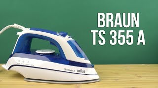 Розпакування Braun TS 355 А