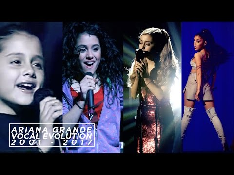 Ariana Grande's Vocal Evolution [ 2001 - 2017 ] | SingersAvenue
