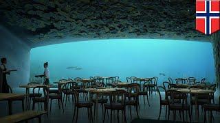 ヨーロッパ初の海中レストラン「アンダー(Under)」がノルウェーの南端バ...