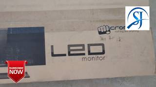 MICROMAX LED 18 5 cm Unboxing