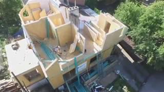 Реконструкция дома в Калининграде по сип технологии