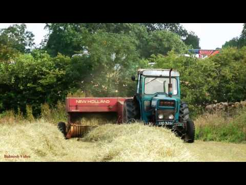 Hay-Making with Vintage Ford 3000