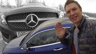 Мерседес С Класс Купе 2016 Тест-Драйв / Mercedes Benz C Класса 2016 Обзор.  Игорь Бурцев