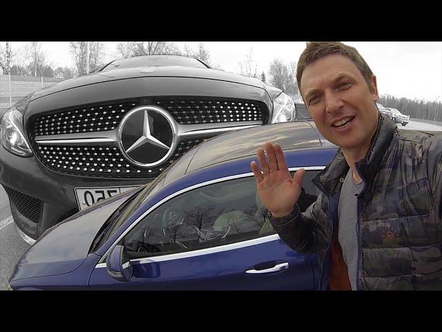 Мерседес С300 Купе Тест-Драйв / Mercedes Benz C-Coupe 2016. Игорь Бурцев