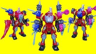 파워레인저 다이노소울 공룡합체 기사룡전대 류소우저 DX 키시류오 변신 공룡 로봇 Power rangers Robot Toys