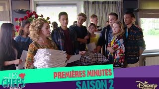 Première minutes de la saison 2 | Les Chefs Toqués | Disney Channel BE