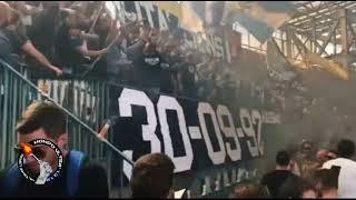 25° anniversario sugli spalti del gruppo ultras Napoli - Vecchi Lions 30/09/1992 - 30/09/2017